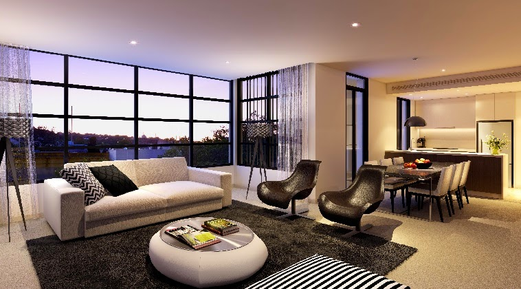15 striking modern living room design ideas and furniture - Modern colors for living room ...