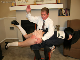 spanked over frilly panties you idea