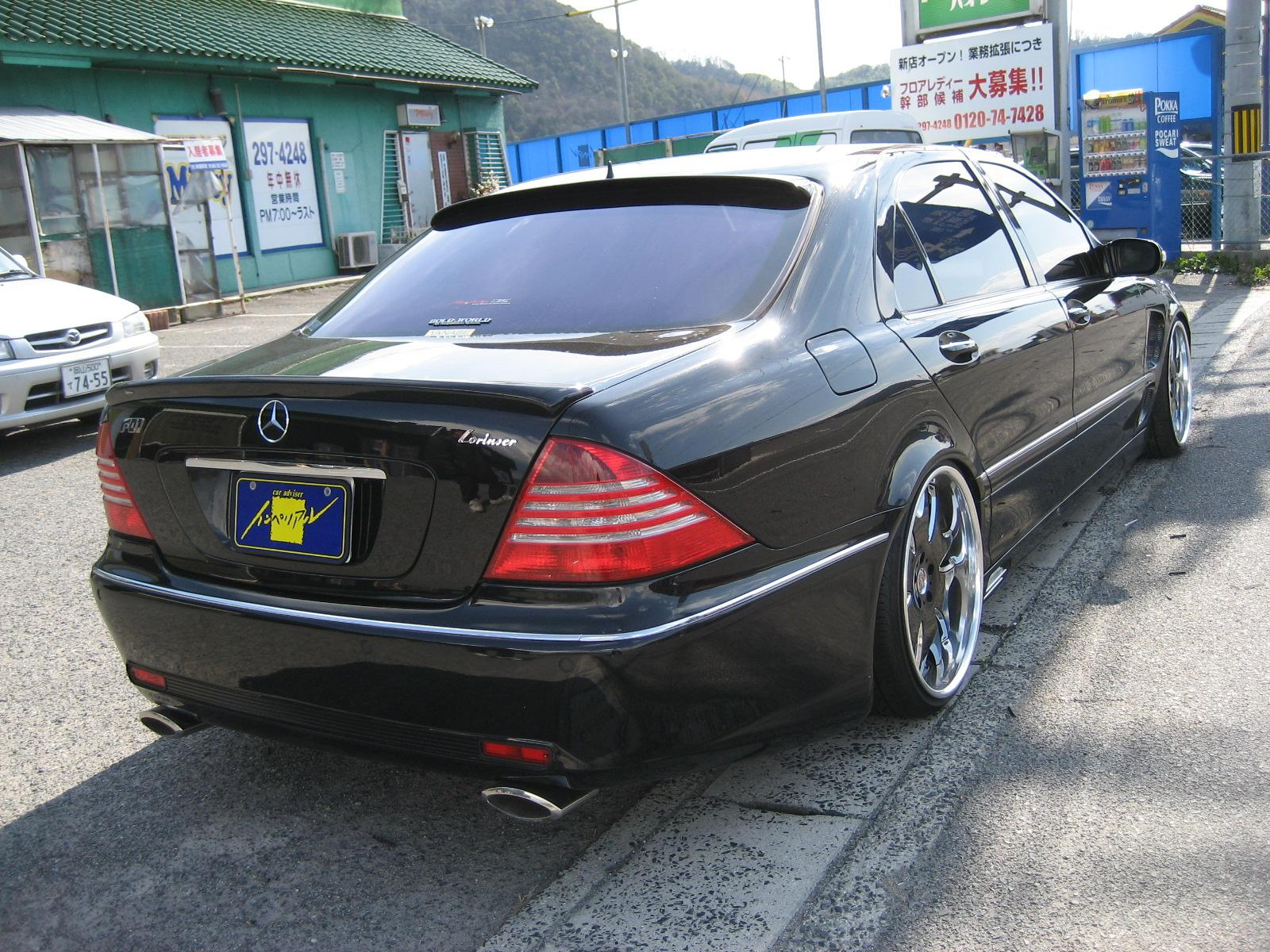 Mercedes benz w220 s500 lorinser benztuning for Mercedes benz lorinser