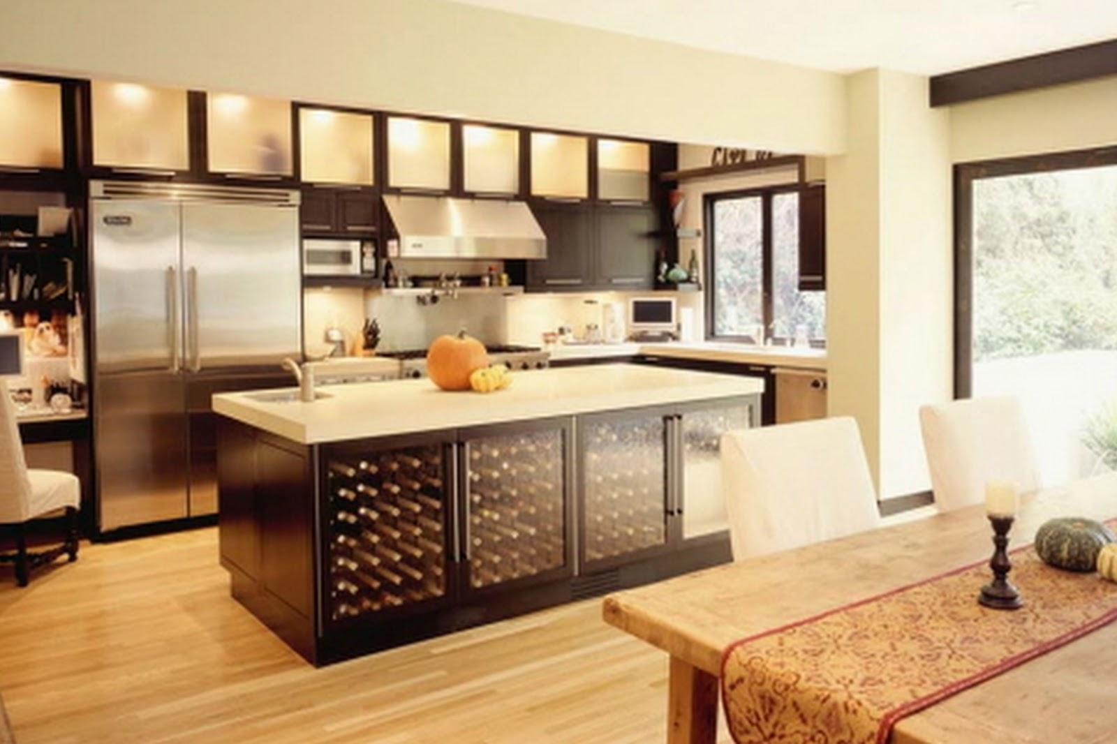 Com a correria do dia a dia que todos vivemos a cozinha americana  #BC800F 1600 1066