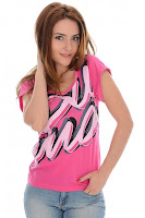 Tricou PUMA pentru femei PUMASCRIPT FOLDOVER SLEEVE TOP I (PUMA)