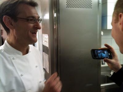 Laurent Jeannin à l'Hôtel Bristol. Avec Kevin Chambenoit