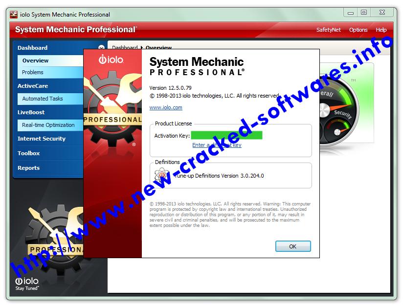 iolo system mechanic crack torrent