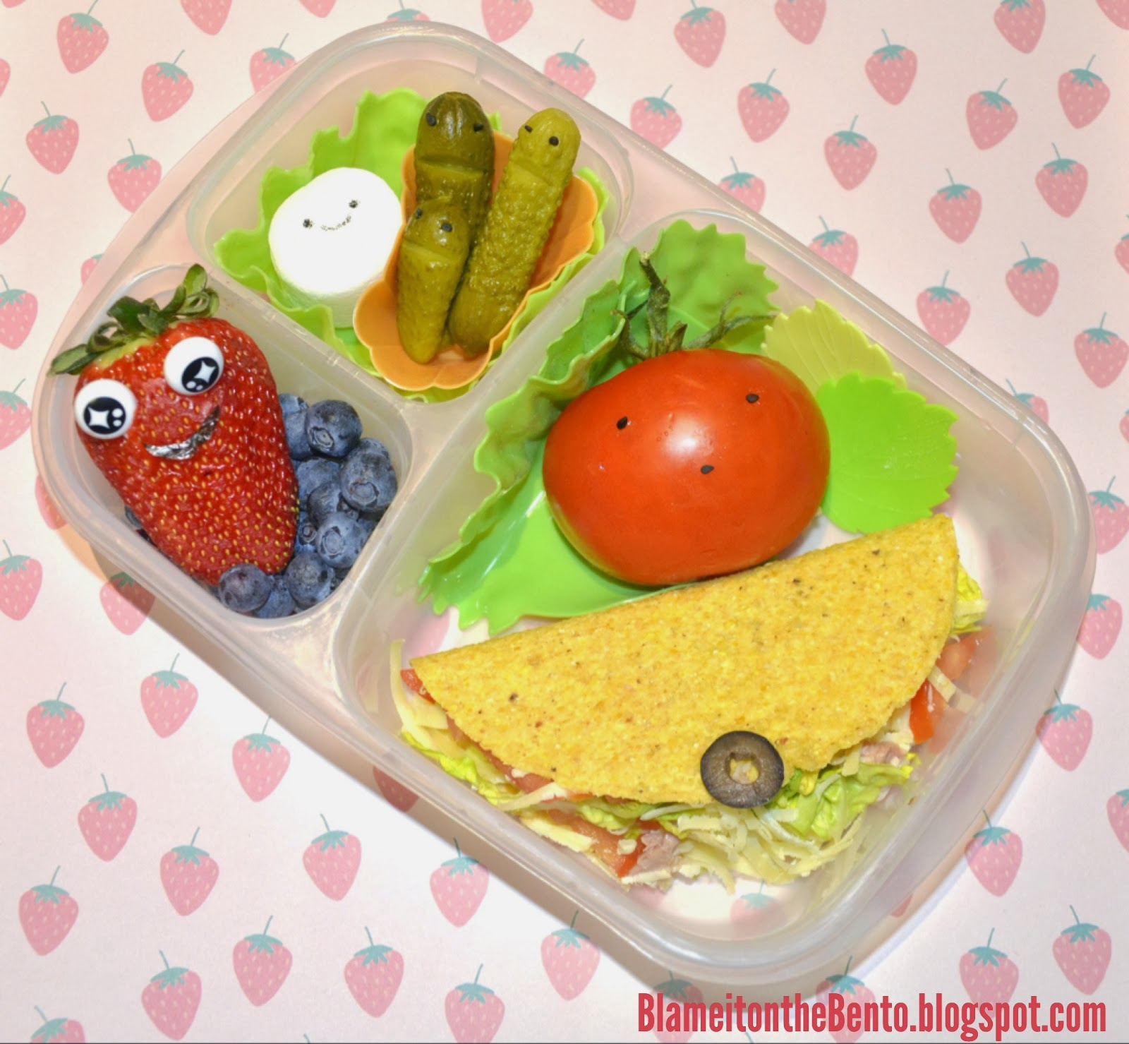 Cloudy with a chance of meatballs 2 foodimals bento lunch