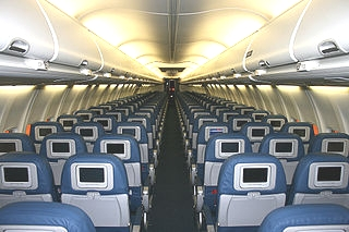 Airplane cabin Wikimedia Commons