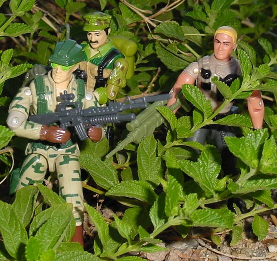 1989 Recoil, 1986 Leatherneck, 2003 Unproduced Wal Mark Sky Patrol Duke