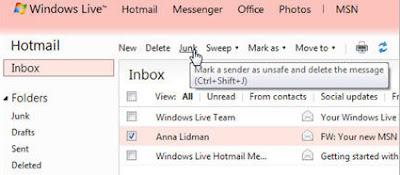 Moj je prijatelj hakiran!, nova značajka u Hotmailu