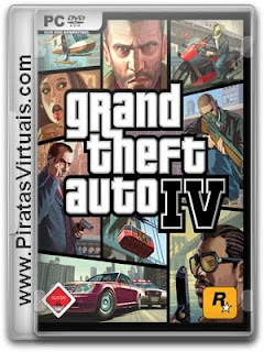 Lançamentos 2012 Downloads Download Jogo Grand Theft Auto IV   PC Full Rip + Crack