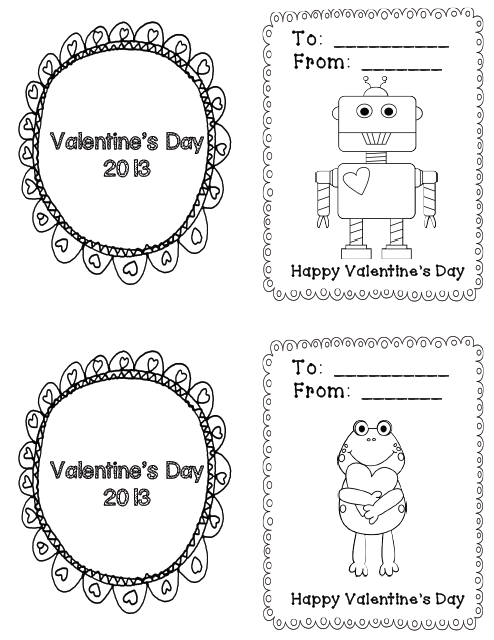 Kindergarten Kids At Play: Love is in the Air! Valentine's Day Card ...