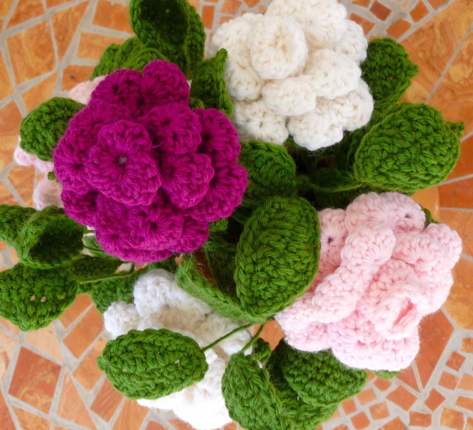 Tutorial Rose Amigurumi : Le creazioni di DiBi: Vaso di rose