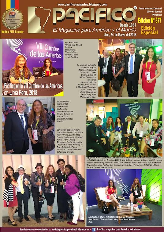 Revista Pacifico Nº 377 Edición Especial