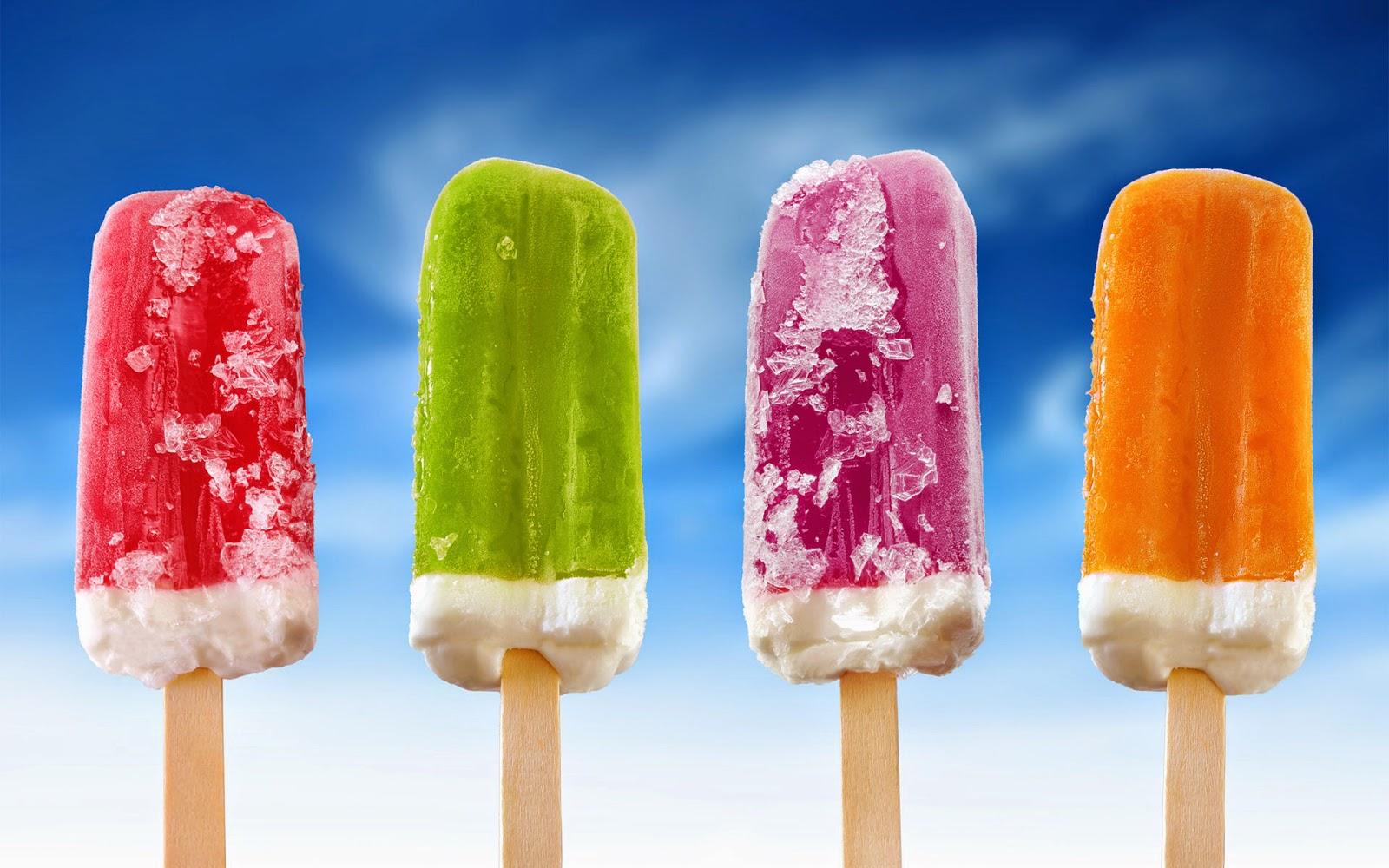 Hình ảnh nền kem ngon cho máy tính tươi mát mùa hè