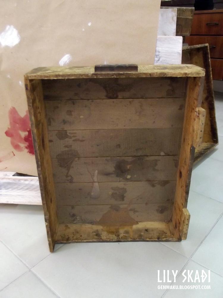 Genwaku course of recycling furniture may part 1 - Reciclado de muebles ...