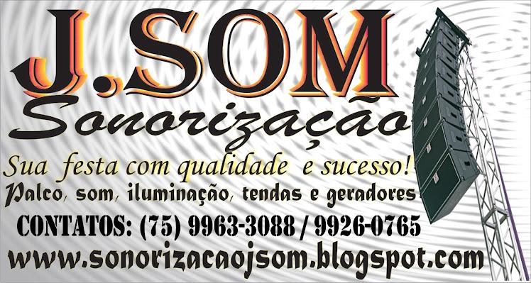 J.SOM SONORIZAÇÃO Adustina