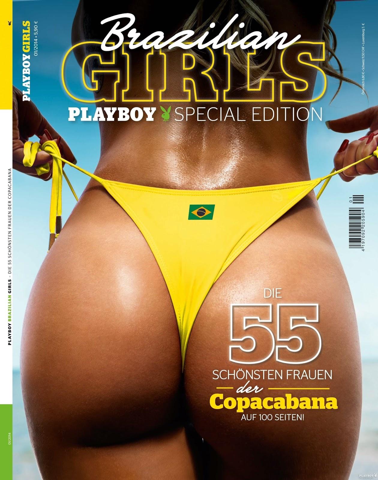 Confira as fotos da edição especial da Playboy Alemanha com as mulheres do Brasil, edição janeiro 2014! Playboy Especial Alemanha - Germany Special edition  Brazilian Girls - Edição Janeiro 2014