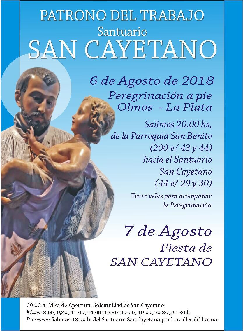 FESTIVIDAD DE SAN CAYETANO