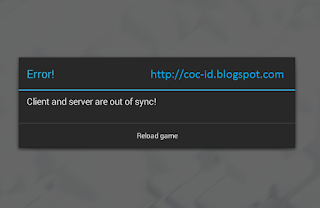 Client and Server out of Sync