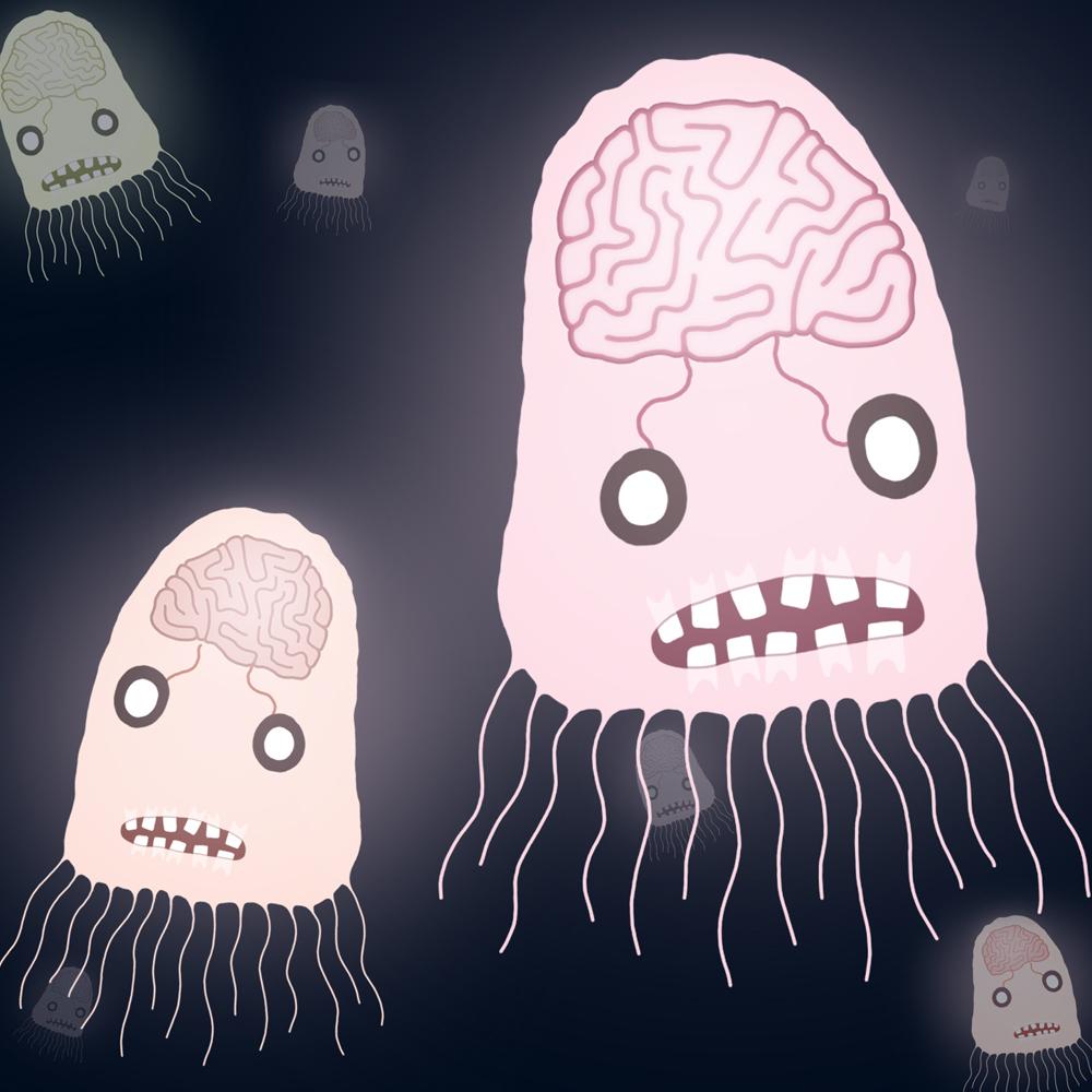 Andy Martin. Handymartian's illustrated Aliens.Doctor Ojiplatico
