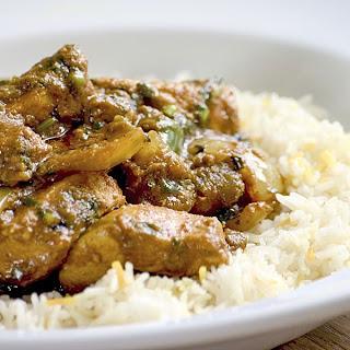 receta fácil de arroz con pollo con salsa de soja