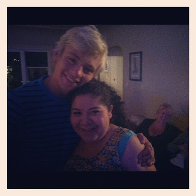 Ross Lynch And Raini Rodriquez Haven't Seen Each Other In A While