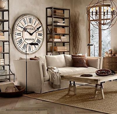 decorar con relojes