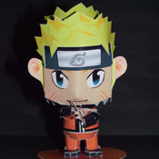 Naruto Mini Papercraft Model
