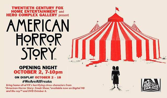 American Horror Story Fan Art Exhibit