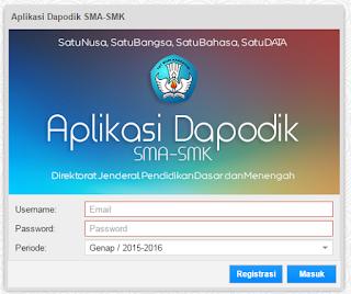 Cara Instalasi Aplikasi Dapodik SMA/SMK Versi 8.3.0 Terbaru