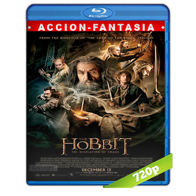 El Hobbit 2 (2013) BRRip 720p Audio Trial Latino-Castellano-Ingles 5.1