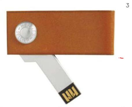 Calfskin USB Flash Drive