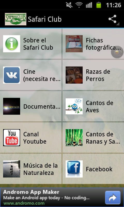 Blog Safari Club, la mayor colección fotográfica del reino animal en tu smartphone