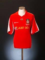 2005 Wrexham 'LDV Vans Trophy Final' Home Shirt