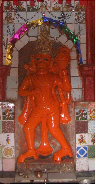 beautiful hanuman deity