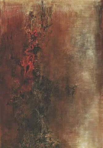 ZAO Wou-ki La mare aux Diables 1956