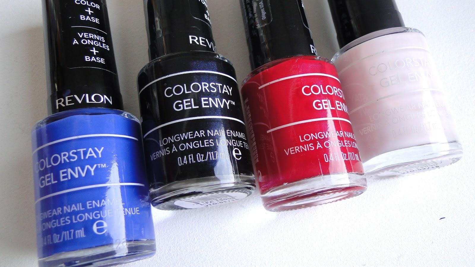 Colorstay Gel Envy de Revlon, color intacto. / Get Glam Or Die Trying