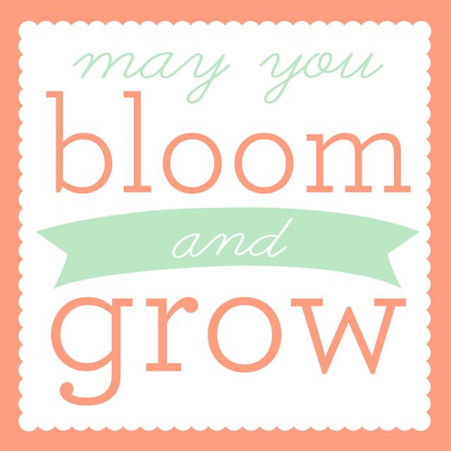 Printable Bloom And Grow Spring Gift Tags Blog Hop My Sister S