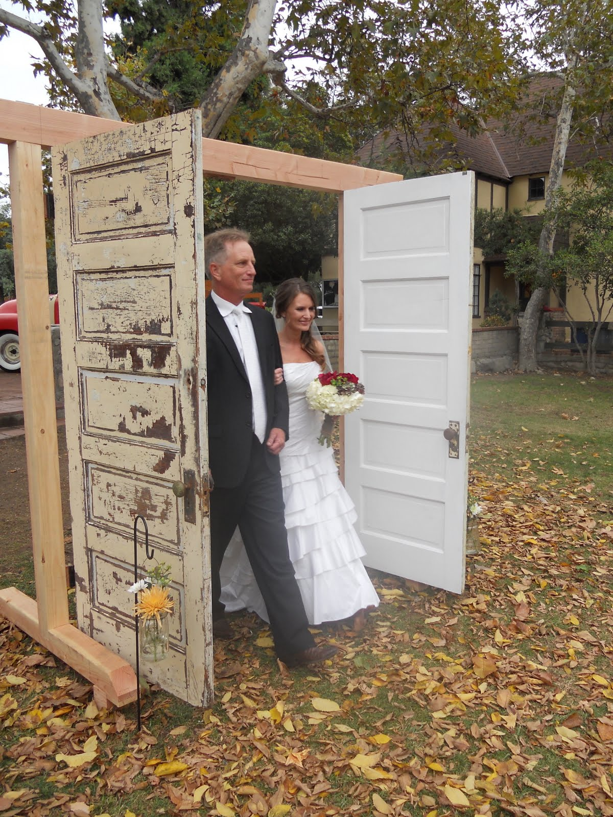 One Sweet Home Spun Touch Is The 2nd Cousins Entering In A Rustic Wagon Just Ahead Of Bride