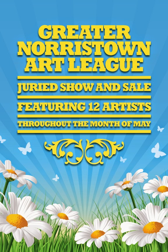 greater norristown art league juried show in skippack during first friday 2014
