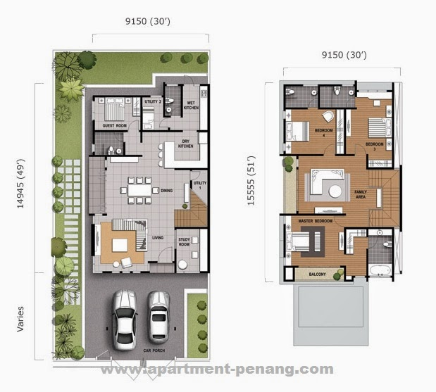 Hillpark Residences Apartment Penang Com