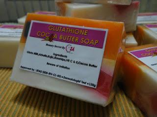 GLUTATHIONE COCOA BUTTER SOAP
