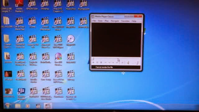 How To Fix With Desktop Icons Transformed into Media Player All How To Fix With Desktop Icons Transformed into Media Player All