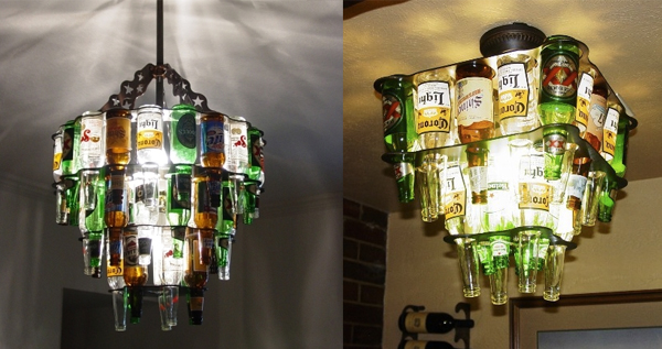12 Fun Ways to Re-use Beer Bottles and Cans | Sloshspot Blog
