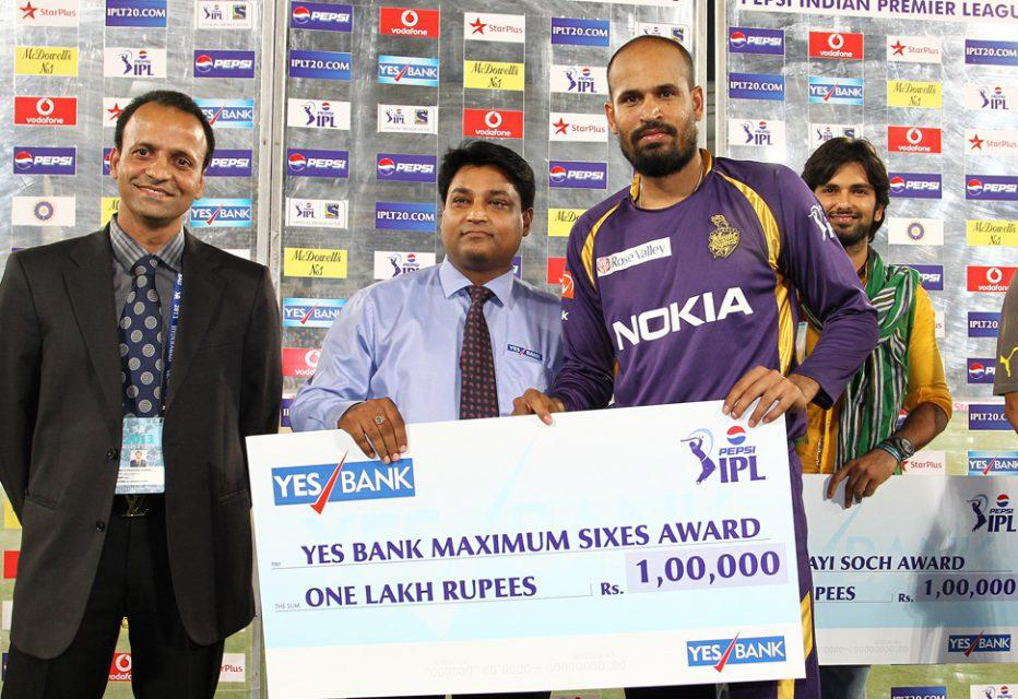 Yusuf-Pathan-Maximum-Sixes-SRH-vs-KKR-IPL-2013