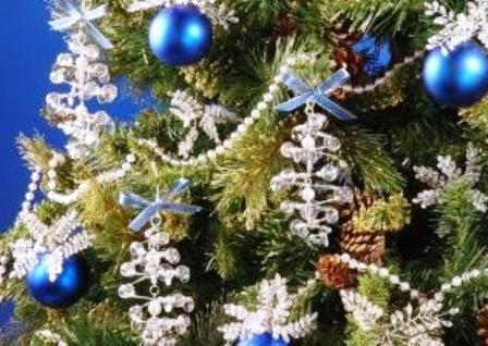 El tiempo entre tus manos rbol de navidad adorno hecho - Arbol de navidad de alambre ...