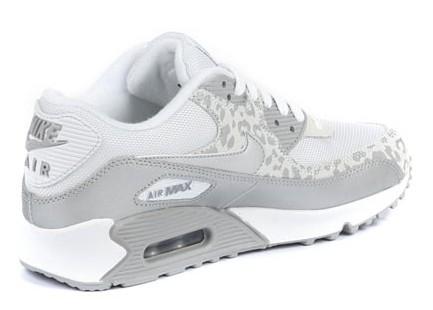Nike Air Max 90 W Leopard Weiss-Silber