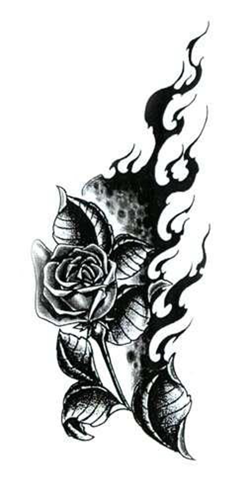 Battle Tattoos Sebuah Mawar Di Dada Juga Digunakan Dalam Mafia
