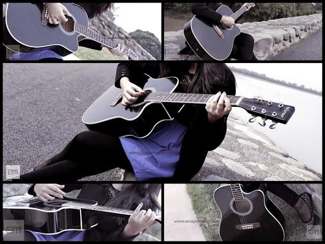 EscapeMatter, escape matter, guitar and girl