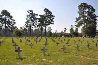 There are more than 3,000 inmates buried in the cemetery dating back to 1850.