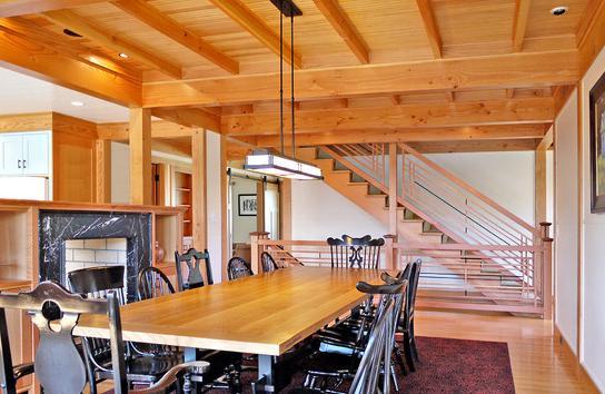 de un techo de madera with techo de madera