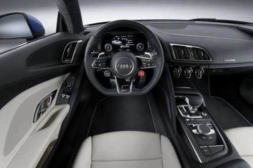 Interiorul lui Audi R8